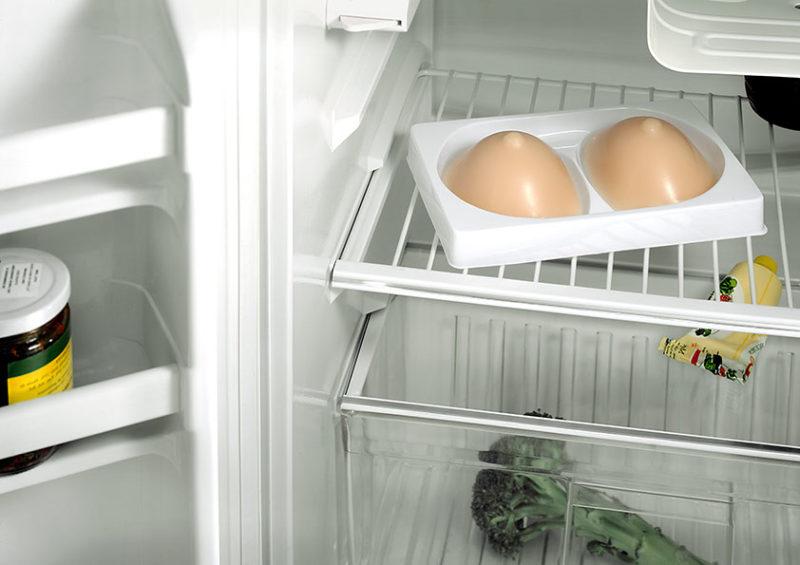 refrigerateur avec contenu inhabituel