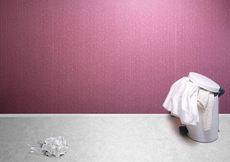 Bouquet de mariage pres d